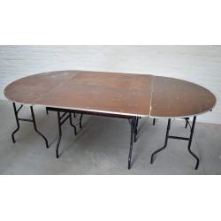 Table ovale 270/150 cm