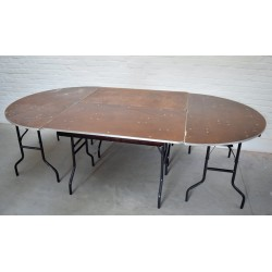 Table ovale 480/150 cm