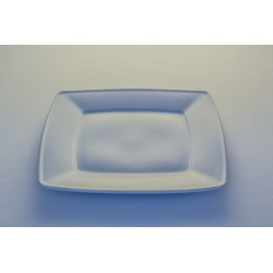 Assiette plate carrée 21 cm