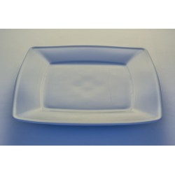 Assiette plate carrée 27 cm