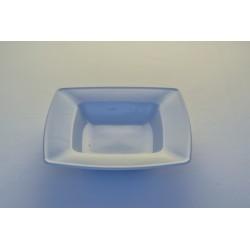 Assiette creuse carrée 21 cm
